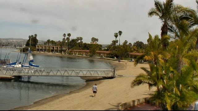 отель Bahia Resort Hotel 3*. Сан-Диего, Калифорния (США)