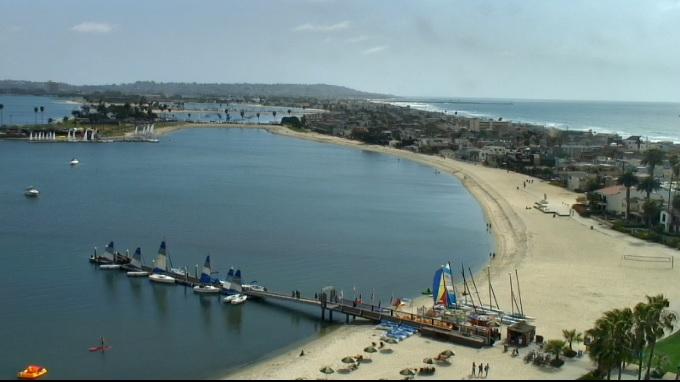 отель Catamaran Resort Hotel 4*. Сан Диего (США)