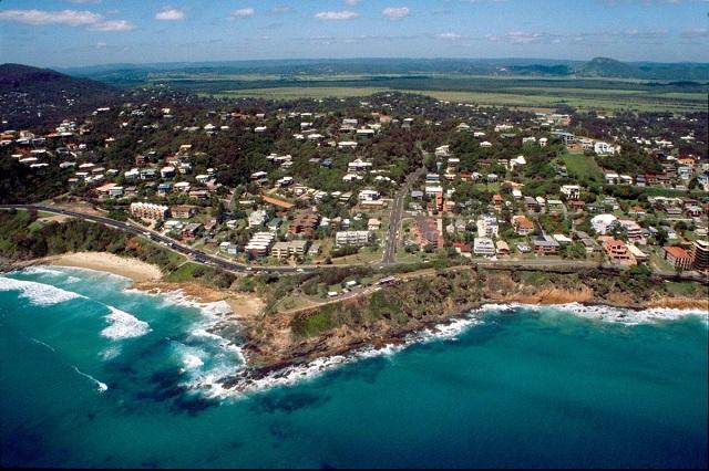 пляж. Кулум Бич (Австралия)