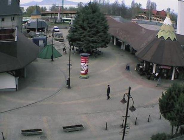 площадь. Fonyod (Венгрия)