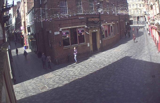 Mathew street. Ливерпуль (Великобритания)