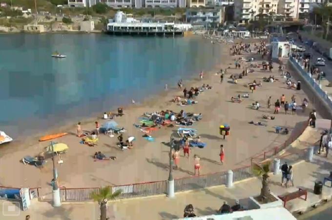 залив Спинола. Сент-Джулианс (Мальта)