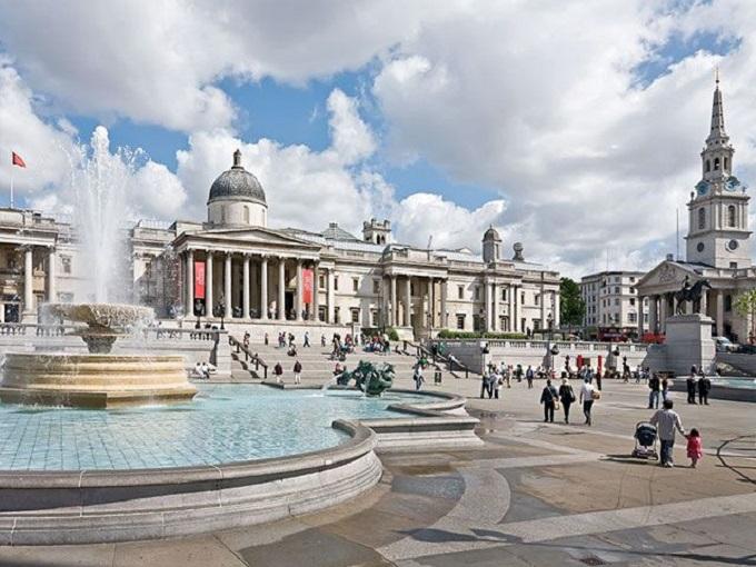 Трафальгарская площадь. Лондон (Англия)