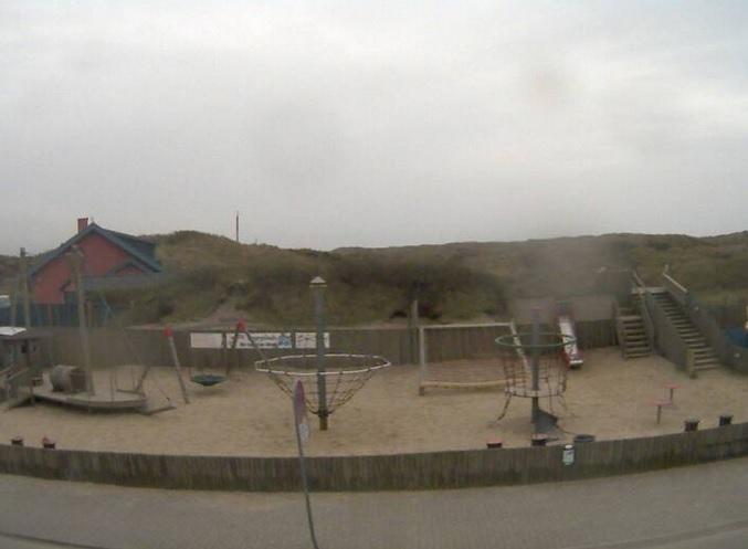 детская площадка. Vejers Strand (Дания)