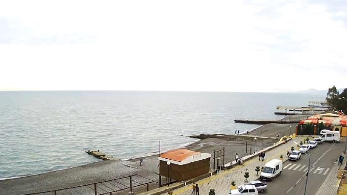 центральный пляж Адлера. Сочи (Россия)