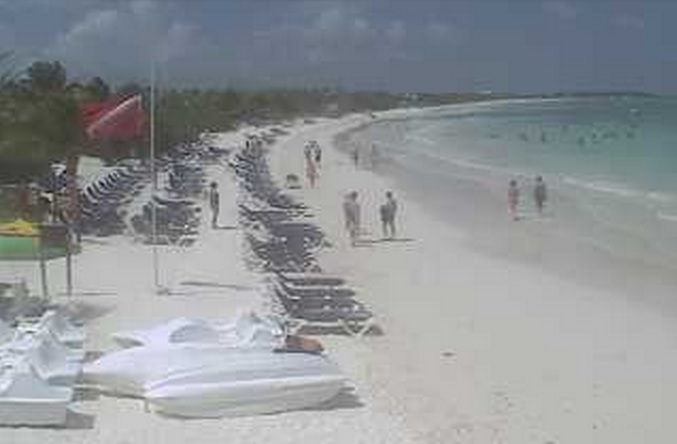 пляж. Акумаль (Мексика)