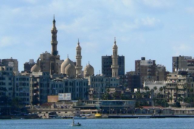 побережье. Александрия (Египет)
