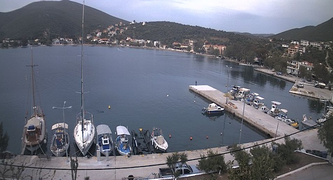 порт. Альмиропотамос (Греция)