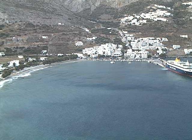 порт Эгиаль. Остров Аморгос (Греция)
