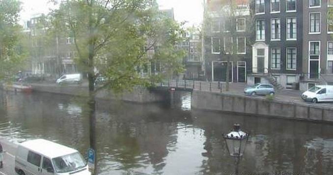 каналы рек. Амстердам (Нидерланды)