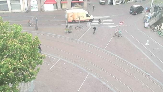 площадь Конигсплей. Амстердам (Нидерланды)