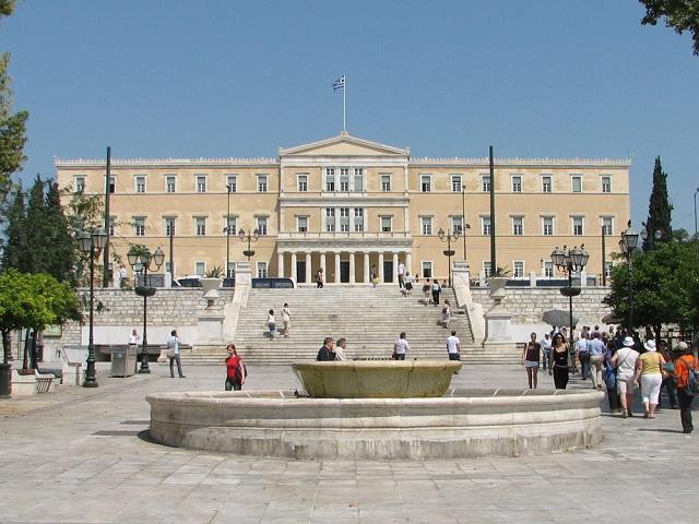 Площадь конституции. Афины (Греция)