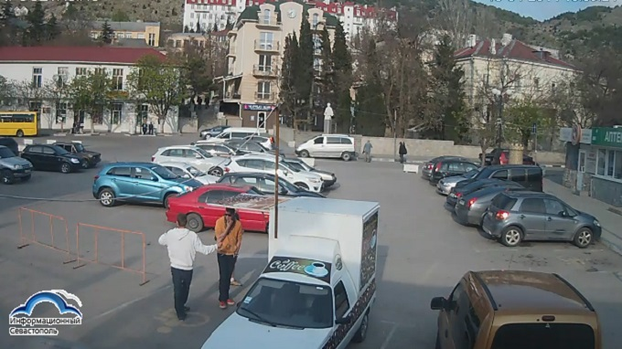 площадь 1-го Мая. Балаклава, Севастополь (Россия)