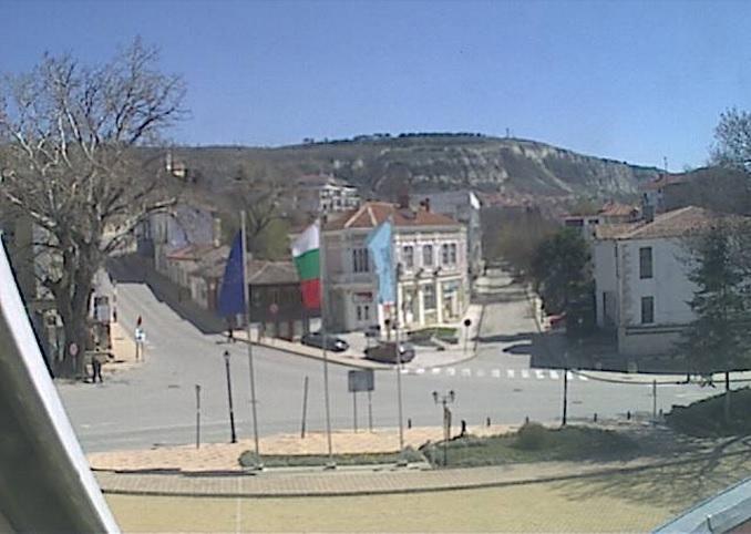 центральная площадь. Балчик (Болгария)