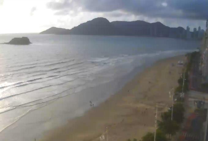 пляж. Балнеариу-Камбориу (Бразилия)