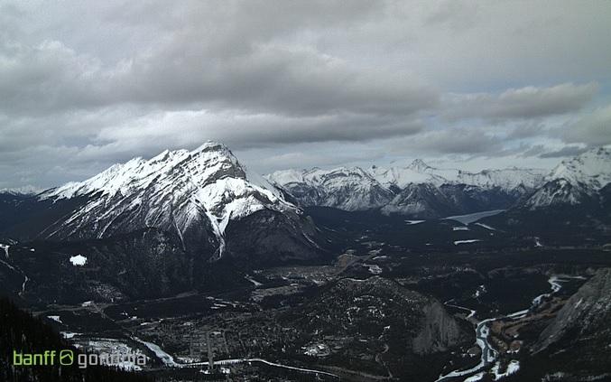 горы. Банф (Канада)
