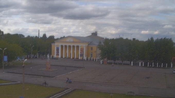 пл. Ленина. Барабинск (Россия)