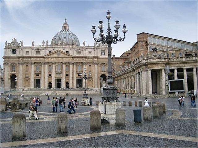 Базилика Святого Петра. Ватикан