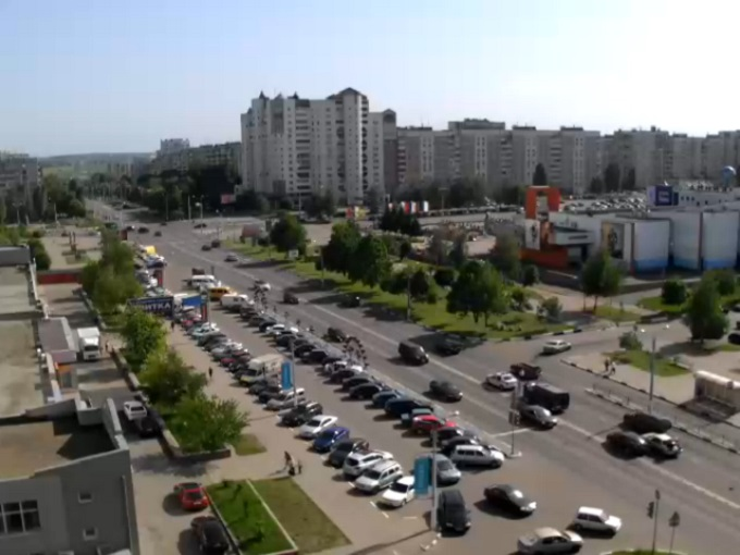 пер. улиц  Ватутина и Королёваа. Белгород (Россия)