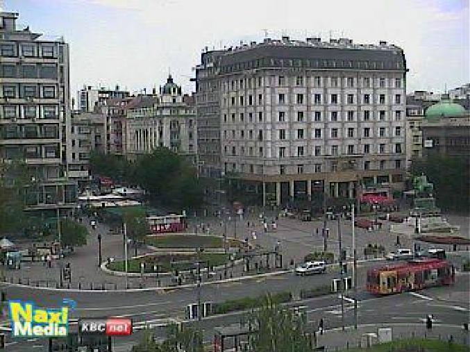 площадь Республики. Белград (Сербия)
