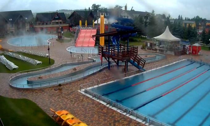 термальный аквапарк Джино Парадайз. Бешенева (Словакия)