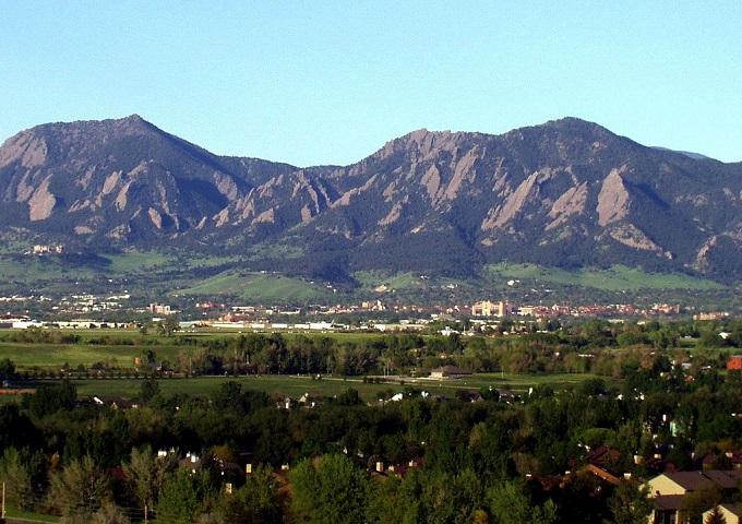 горы. Боулдер, Колорадо (США)