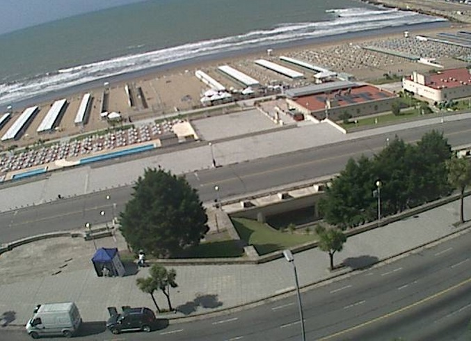 пляж Гранд. Мар-дель-Плата (Аргентина)