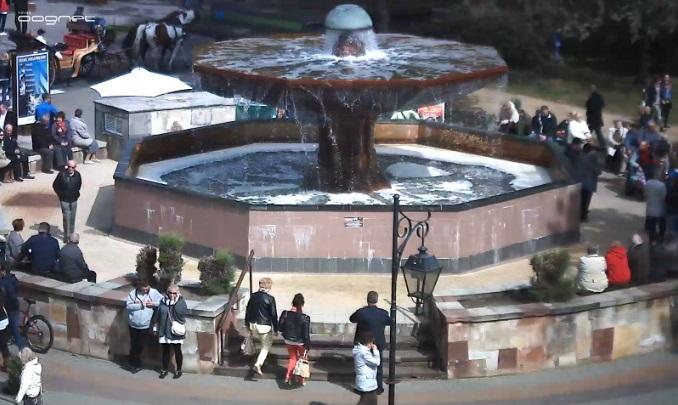 фонтан. Цехоцинек (Польша)