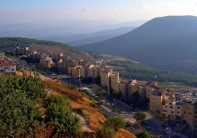 гора Галиль. Цфат (Израиль)