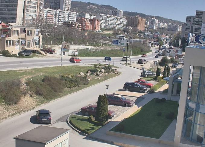 бульвар Царь Освободитель. Варна (Болгария)
