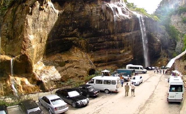 Чегемские водопады. Кабардино-Балкария (Россия)