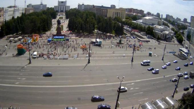 площадь Революции. Челябинск