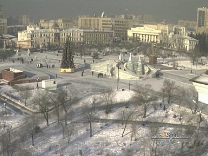 площадь Ленина. Чита (Россия)