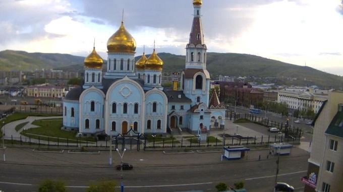 Казанский кафедральный собор. Чита (Россия)
