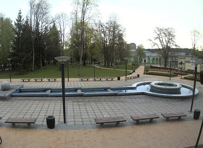 музыкальный фонтан. Друскининкай (Литва)