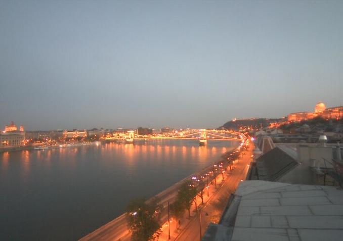 вид на Дунай, отель Victoria 4*. Будапешт (Венгрия)