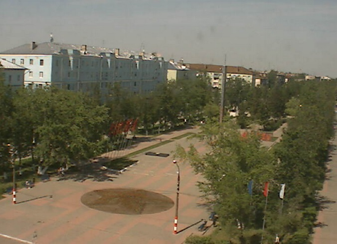 проспект Ленина. Дзержинск ( Россия)