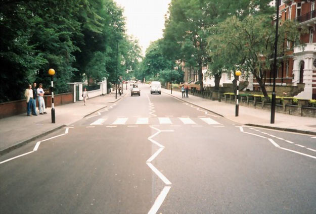 улица Эбби-Роуд. Лондон (Англия)