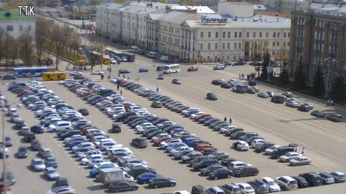 пл. 1905 года. Екатеринбург (Россия)