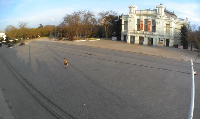 Театральная площадь. Евпатория (Россия)