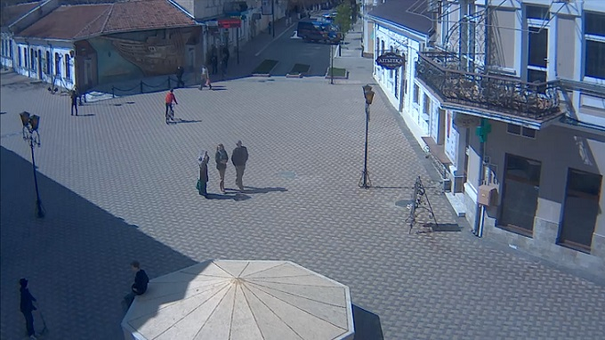 панно Бригантина. Феодосия (Россия)