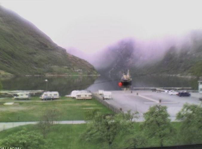 Гейрангер-фьорд. Гейрангер (Норвегия)