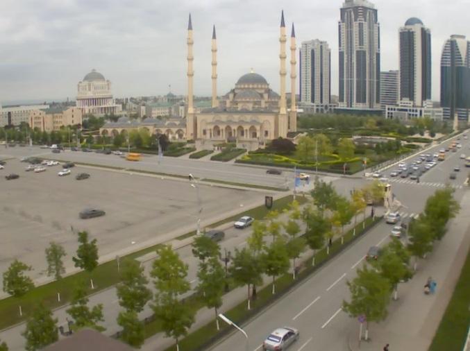 мечеть «Сердце Чечни». Грозный (Россия)