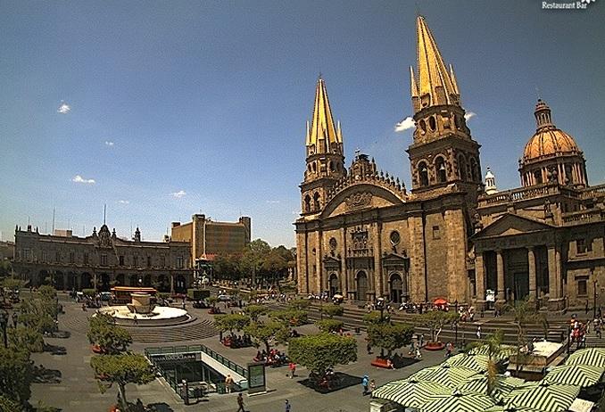 собор. Гвадалахара (Мексика)