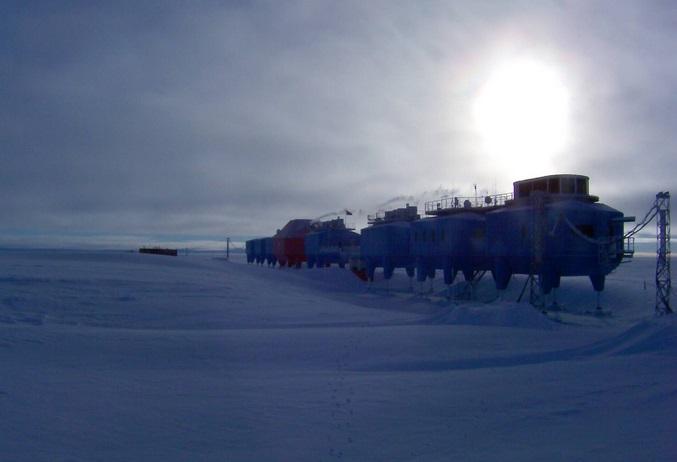 Научная станция Халли Бей. Антарктика