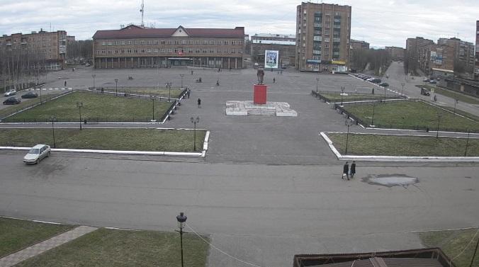 площадь Ленина. Инта (Россия)