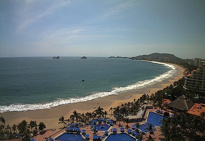 пляж. Икстапа (Мексика)