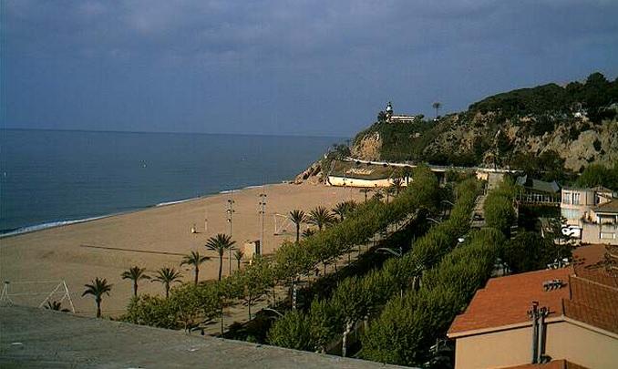 пляж, отель Calella Barcelona 4*. Калелья, Барселона (Испания)