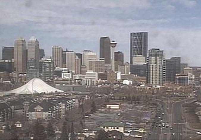 панорама. Калгари (Канада)