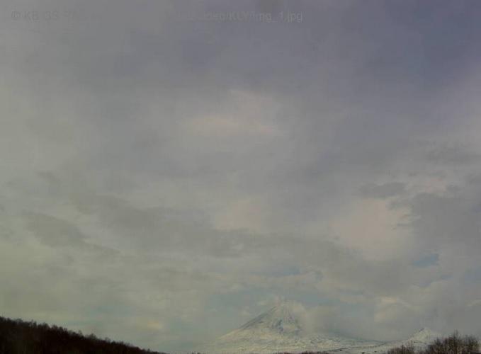 вулкан Ключевская сопка. Петропавловск-Камчатский (Россия)